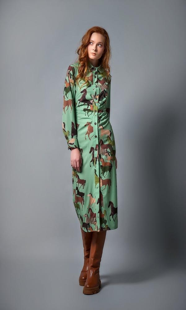 Γυναικεία Ρούχα CMANOLO HORSES LOND DRESS