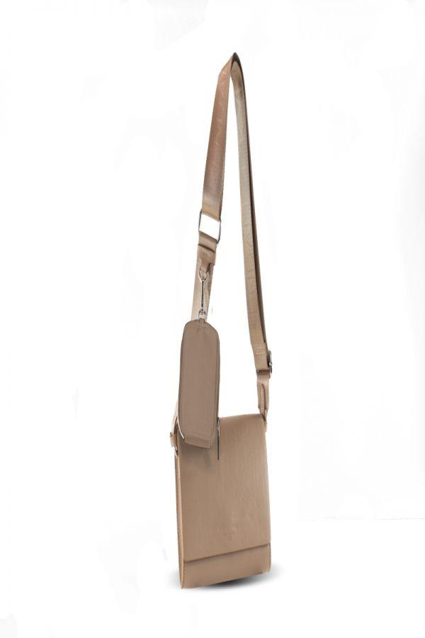 Cross Body - Messenger Bags KENDALL AND KYLIE BEIGE CROSSBODY BAG