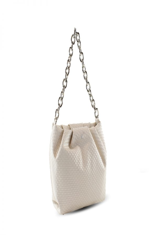 Shopping Bags KENDALL AND KYLIE OFF WHITE SHOPPING BAG