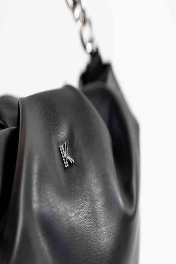 Shopping Bags KENDALL AND KYLIE BLACK SHOPPING BAG