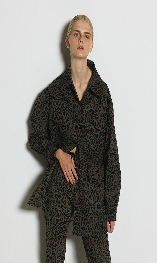 Γυναικεία Ρούχα MILLA ANIMAL PRINT OVERPRINT