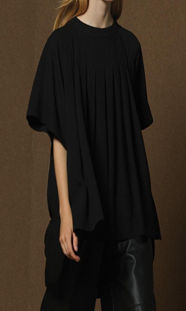 Γυναικεία Ρούχα MILLA LOOSE BLACK BLOOSE