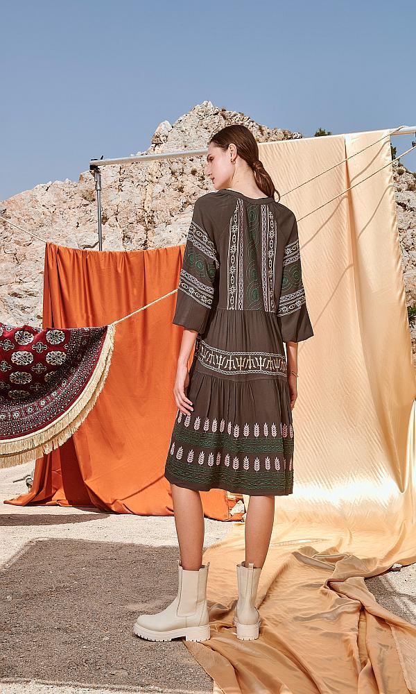 Γυναικεία Ρούχα NEMA EMBROIDERY DRESS