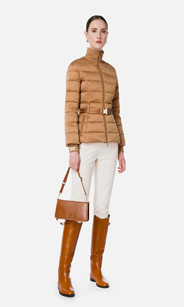 Γυναικεία Ρούχα ELISABETTA FRANCHI PANDDED QUILTED COAT