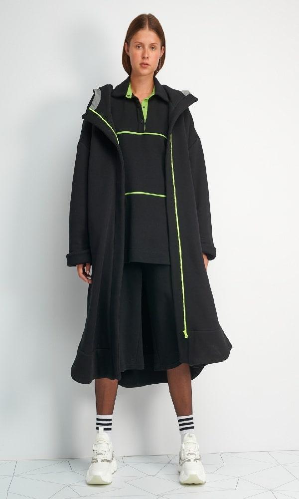 Γυναικεία Ρούχα FOURMINDS HOODIES LONG JACKET