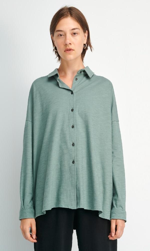 Γυναικεία Ρούχα FOURMINDS BLUE SHIRT