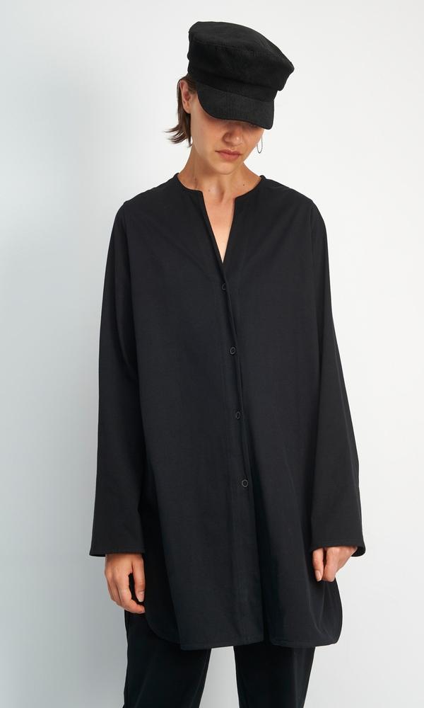 Γυναικεία Ρούχα FOURMINDS BLACK MOOD SHIRT