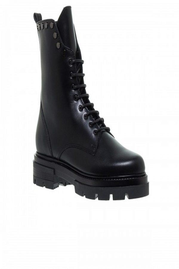 Μπότες - Μποτάκια MOURTZI BLACK BIKER BOOTIES