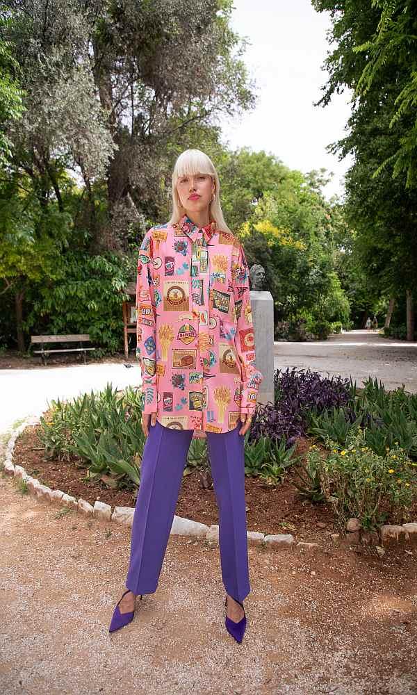 Γυναικεία Ρούχα NEVER ON SUNDAY by NEMA PINK SHIRT